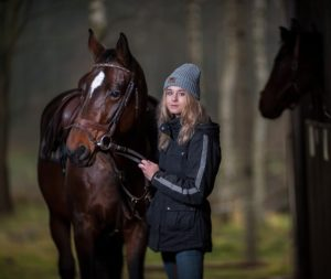 Ann With her horse